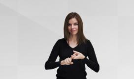 işaret dili sertifikası